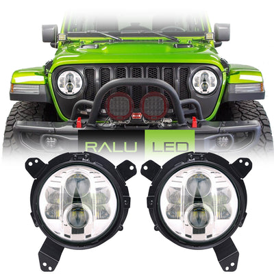 Jeep Wrangler JL LED Headlights 2018-2019 - BB (Pair)