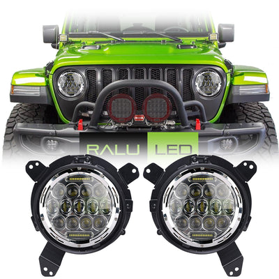 Jeep Wrangler JL LED Headlights 2018-2019 - Bugeye (Pair)