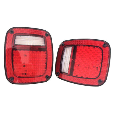 97-06 Jeep Wrangler TJ LED Tail Lights