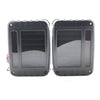 Blacked Out Linear 07-17 Jeep Wrangler JK LED Tail Lights