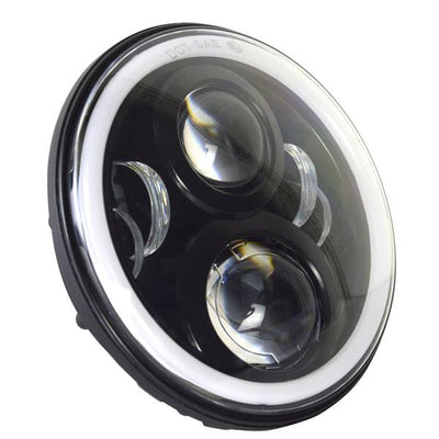 "7"" Gen2 Color Changing Halo LED Harley Headlight"