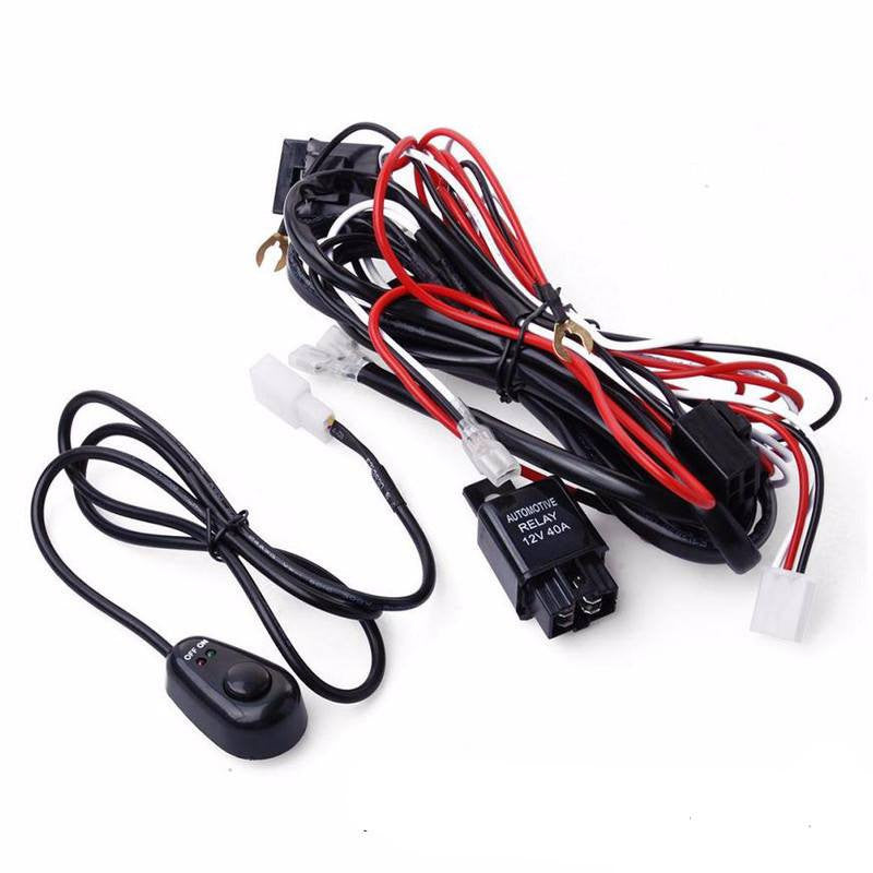 wiring harness for single dual led lights 1_800x?v=1494956778 wiring harness for single dual led lights ralu led single pin waterproof wire harness at eliteediting.co