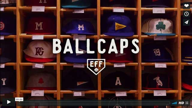 Ebbets Ballcaps video