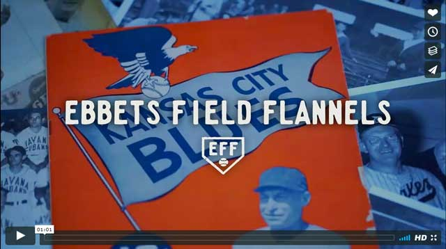 Ebbets Field Flannels video