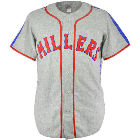 LARGE - Minneapolis Millers 1944 Road Jersey