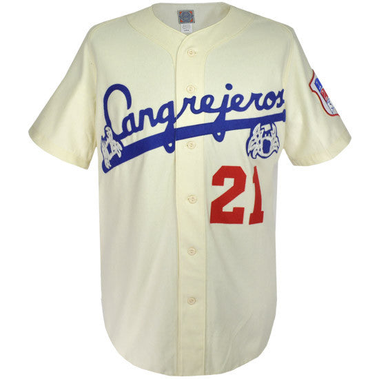 reputable site 17ec3 4e0ff Santurce Cangrejeros 1954 Home Jersey