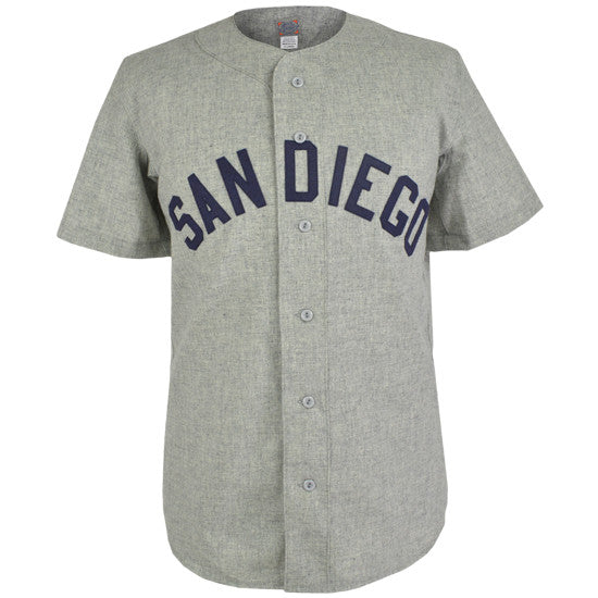 19f489193 San Diego Padres (PCL) 1962 Road Jersey – Ebbets Field Flannels