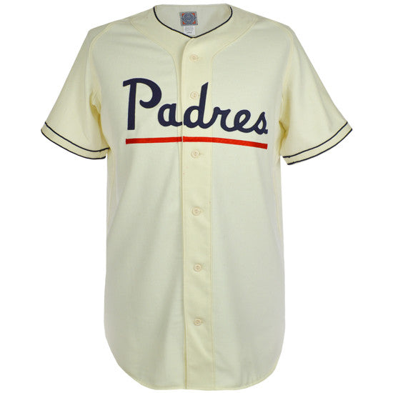 low priced 29b5a 82f9c San Diego Padres (PCL) 1952 Home Jersey – Ebbets Field Flannels