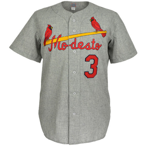 Modesto Reds 1968 Road Jersey