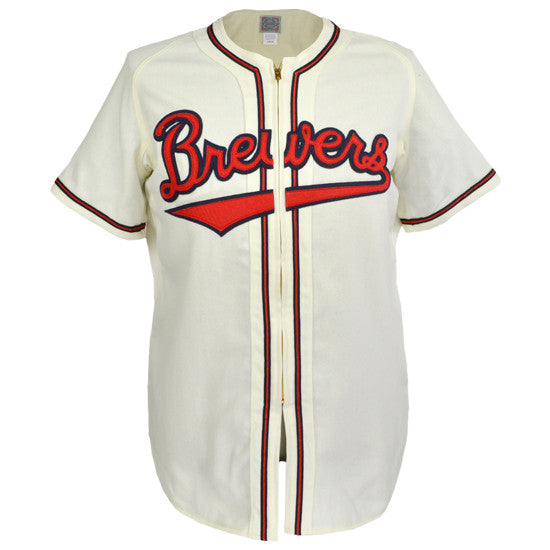 outlet store 28cb7 d4edc Milwaukee Brewers (AA) 1948 Home Jersey