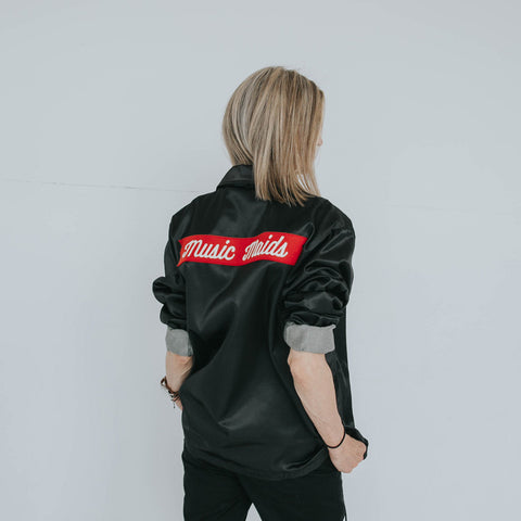 Music Maids Satin Windbreaker