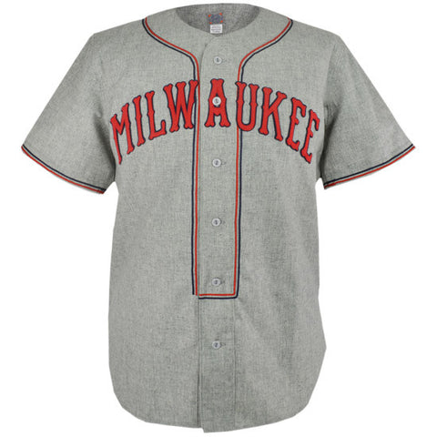 Milwaukee Brewers 1936 Road Jersey