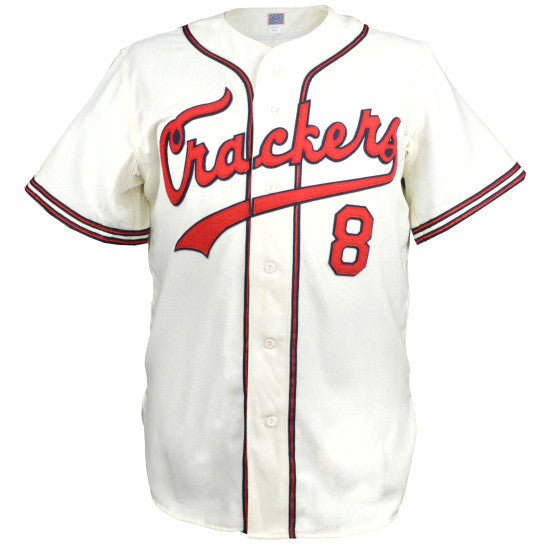 buy popular d636a 3ac53 Atlanta Crackers 1957 Home Jersey