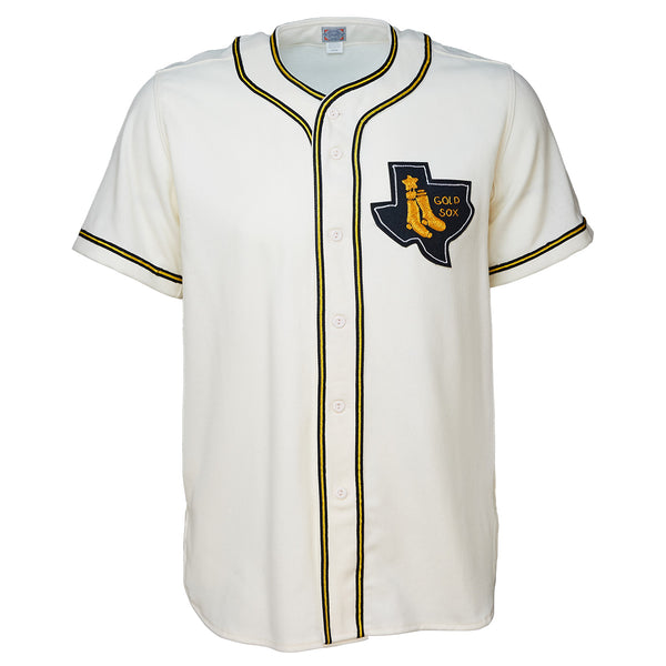 72a80723e1bb Amarillo Gold Sox 1961 Home Jersey – Ebbets Field Flannels