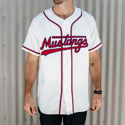 Billings Mustangs 1963 Home Jersey