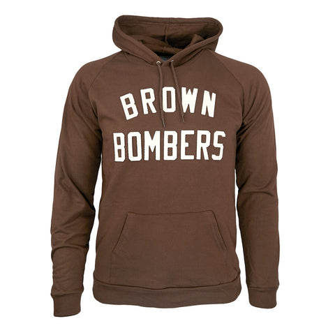 SMALL - Brown Bombers Hooded Sweatshirt