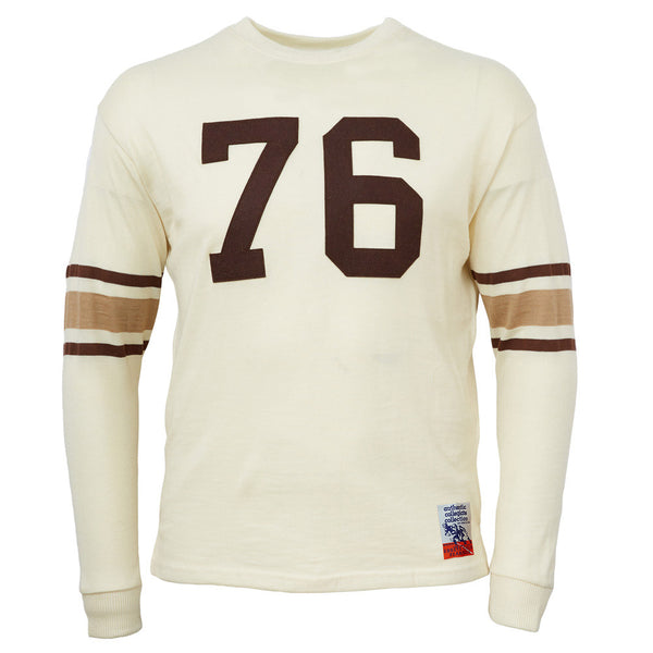 91717db21ec Brown University 1950 Authentic Football Jersey – Ebbets Field Flannels