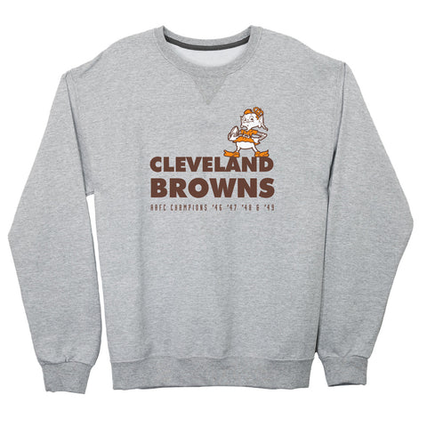 Cleveland Browns Lightweight Crewneck