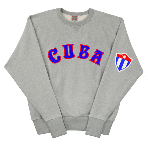 Cuba National Team Vintage French Terry Sweatshirt