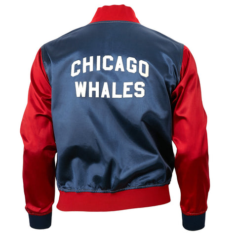 Chicago Whales Satin Color Block Jacket