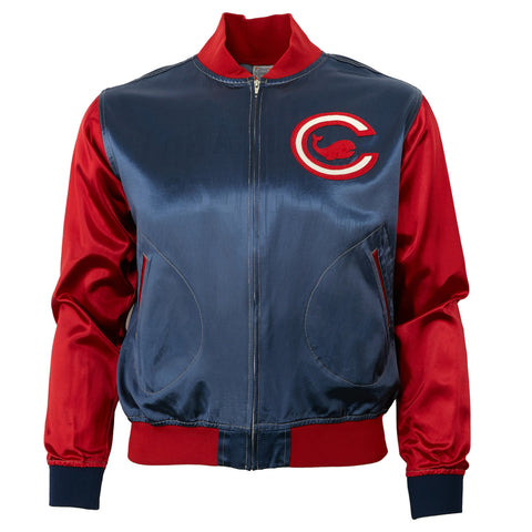 LARGE - Chicago Whales Satin Color Block Jacket