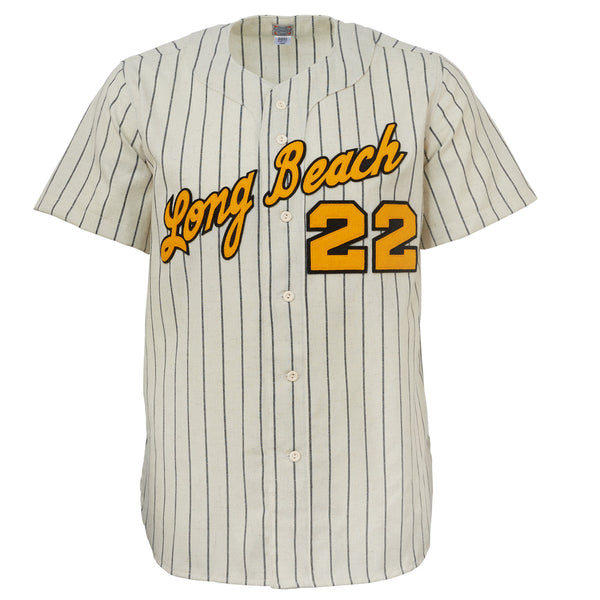 reputable site 58d53 51ba3 Cal State Long Beach 1969 Home Jersey – Ebbets Field Flannels
