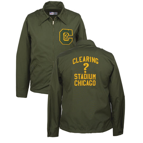 Clearing Question Marks Grounds Crew Jacket