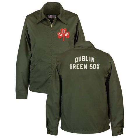 2X-LARGE - Dublin Green Sox Grounds Crew Jacket