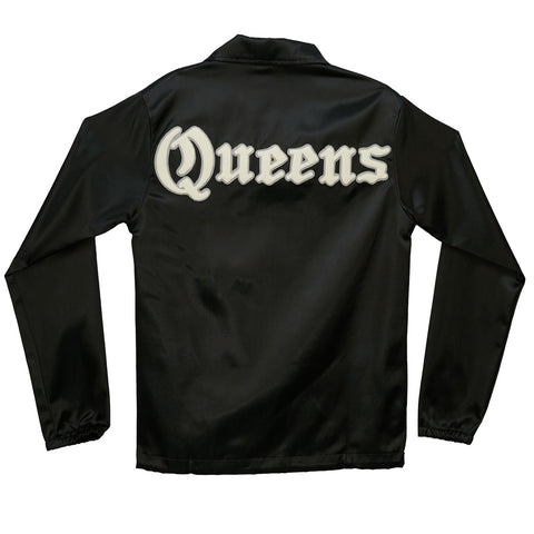 Queens Satin Windbreaker