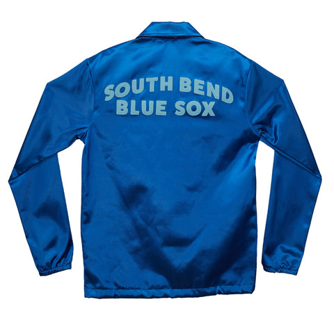South Bend Blue Sox Satin Windbreaker