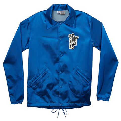 X-SMALL - South Bend Blue Sox Satin Windbreaker