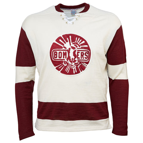 Flin Flon Bombers 1957 Hockey Sweater