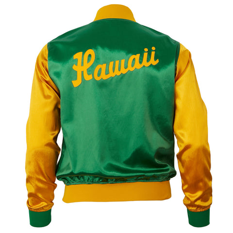 Hawaii Islanders Satin Color Block Jacket