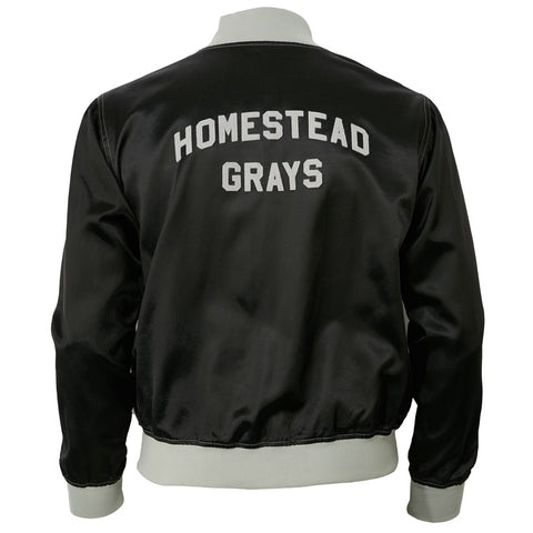 Homestead Grays Satin Color Block Jacket