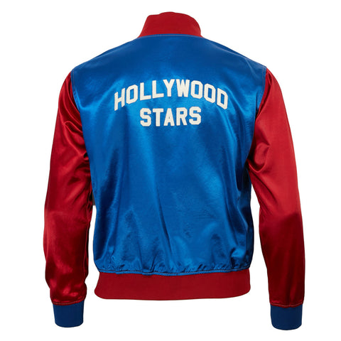 Hollywood Stars Satin Color Block Jacket