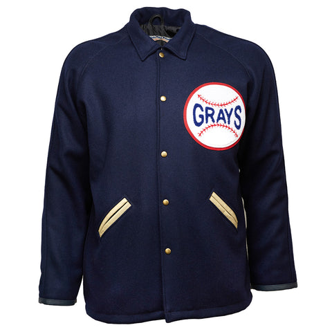 LARGE - Homestead Grays 1935 Fingertip Authentic Jacket