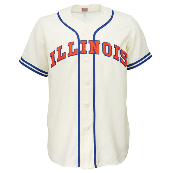 premium selection 7e292 15868 University of Illinois 1959 Home Jersey – Ebbets Field Flannels