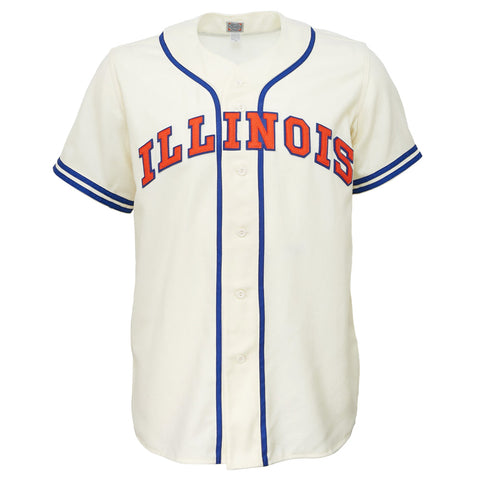 University of Illinois 1959 Home Jersey