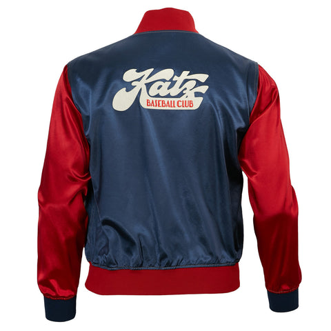 Kansas City Katz Satin Color Block Jacket
