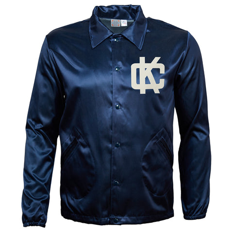 Kansas City Blues Vintage Satin Windbreaker