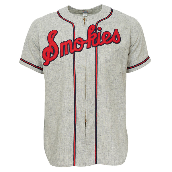 74fe52cf046 Knoxville Smokies 1953 Road Jersey