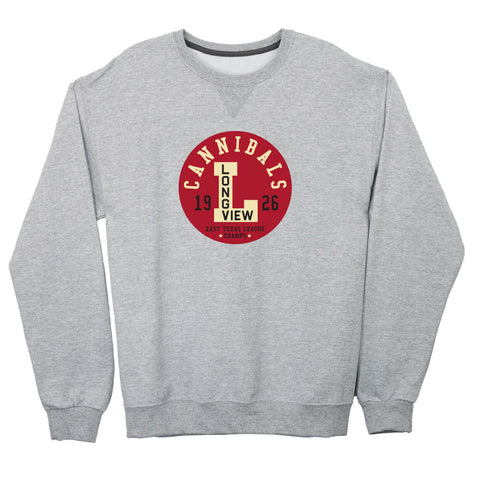 Longview Cannibals Lightweight Crewneck