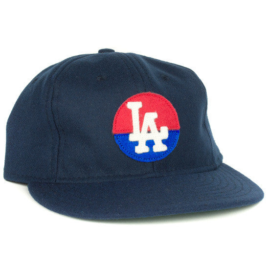 3aa342bc42a Los Angeles Angels (PCL) 1946 Vintage Ballcap – Ebbets Field Flannels