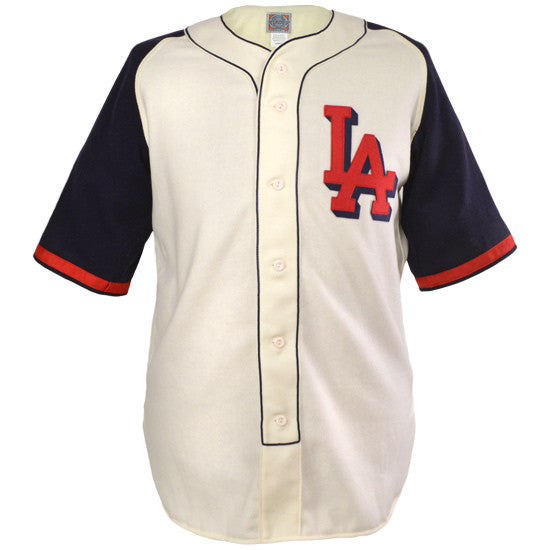 8ee6bfb9812 Los Angeles Angels (PCL) 1941 Home Jersey – Ebbets Field Flannels
