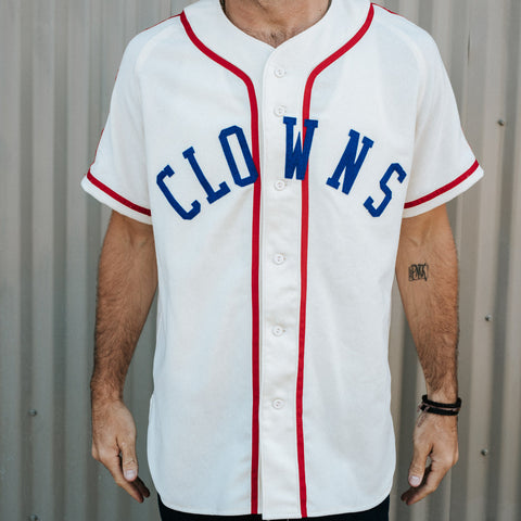 Indianapolis Clowns 1945 Home Jersey