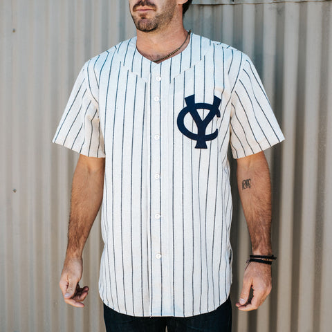 Columbus Confederate Yankees 1965 Home Jersey