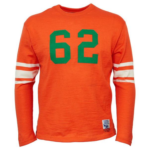 0e801632d79 University of Miami 1945 Authentic Football Jersey – Ebbets Field Flannels