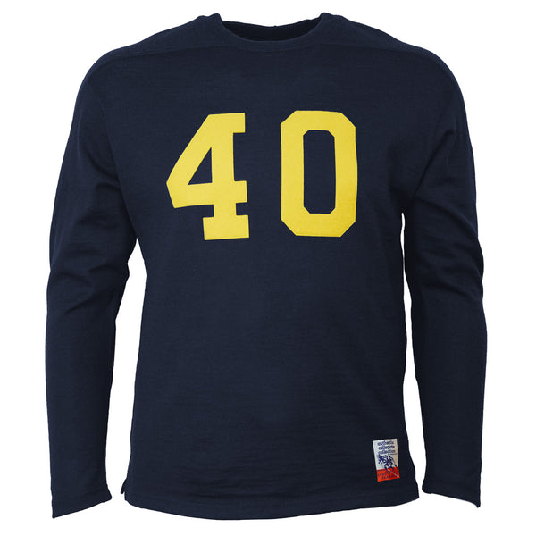 ae9b85172 University of Michigan 1933 Authentic Football Jersey – Ebbets Field  Flannels