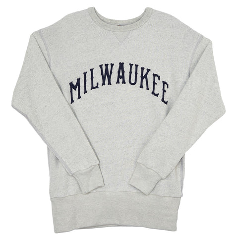 X-SMALL - Milwaukee Brewers (AA) Crewneck Sweatshirt
