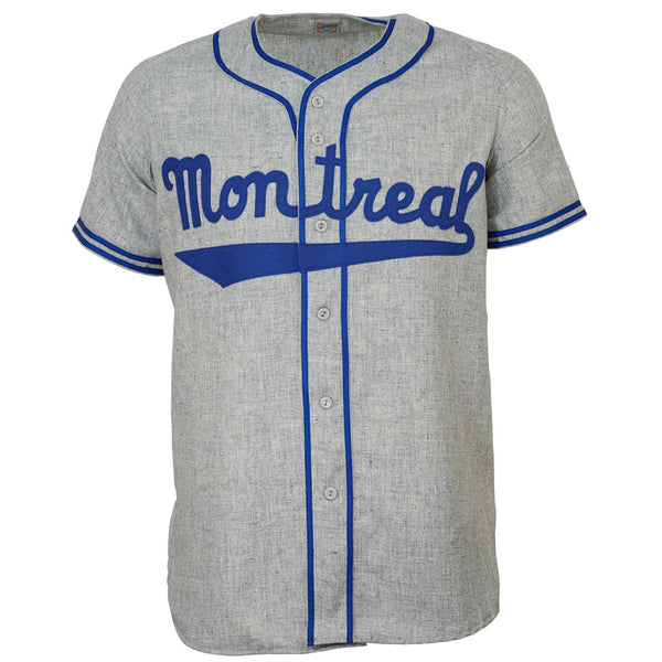 brand new c6a8f 5d5f0 Montreal Royals 1946 Road Jersey